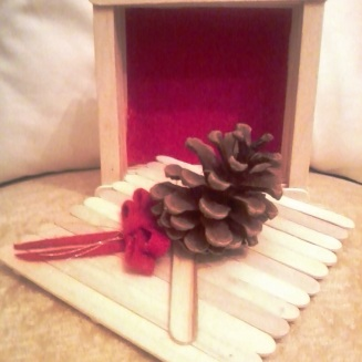 Popsicle stick box