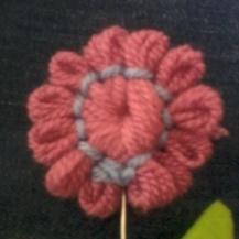 Ροζ λουλούδι