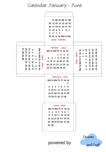 Το ημερολόγιο στα αγγλικά